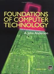 Cover of: Foundations of Computer Technology by Alexander John Anderson