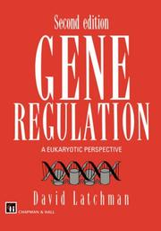 Cover of: Gene Regulation by D.S. Latchman