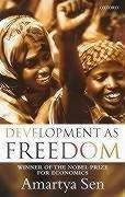 Cover of: Development as freedom | Amartya Kumar Sen