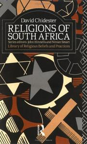 Cover of: Religions of South Africa | David Chidester