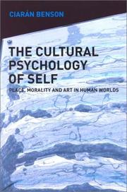 Cover of: Cultural Psychology of the Self by Ciaran Benson
