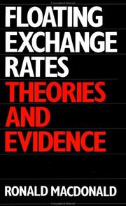 Cover of: Floating Exchange Rates | R. Macdonald