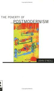 Cover of: The poverty of postmodernism | O'Neill, John