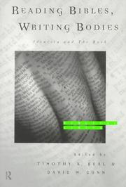 Cover of: Reading Bibles, Writing Bodies | Timothy K. Beal