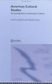 Cover of: American cultural studies | Neil A. Campbell