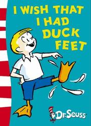 Cover of: I Wish That I Had Duck Feet (Green Back Book) by Dr. Seuss