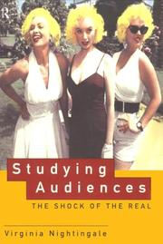 Cover of: Studying audiences | Virginia Nightingale