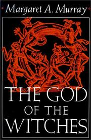 Cover of: The God of the Witches by Margaret Murray