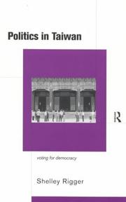 Cover of: Politics in Taiwan | Shelley Rigger