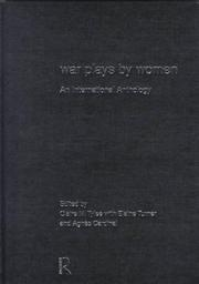 Cover of: War Plays by Women | Agnes Cardinal