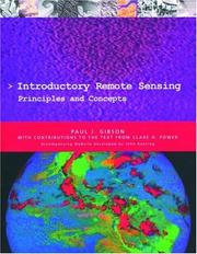 Cover of: Introductory remote sensing | Paul J. Gibson