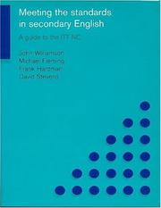 Cover of: Meeting the Standards in Secondary English | Michael Fleming