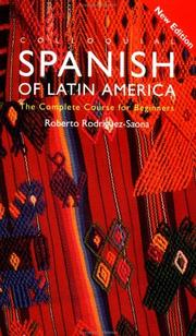 Cover of: Colloquial Spanish of Latin America by Roberto Rodríguez-Saona