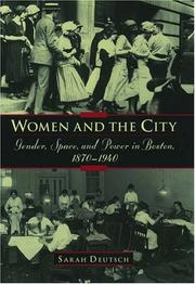 Cover of: Women and the City by Sarah Deutsch
