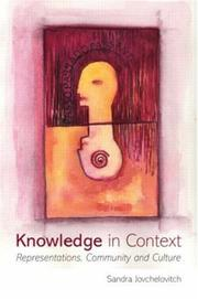 Cover of: Knowledge in Context | Sandra Jovchelovitch
