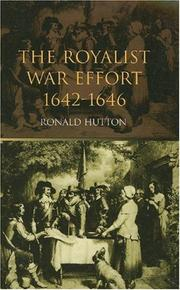 Cover of: Royalist War Effort, 1642-1646 | RONALD HUTTON