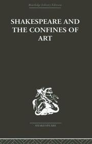 Cover of: Shakespeare and the Confines of Art | Philip Edwards