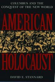 Cover of: American Holocaust | David E. Stannard