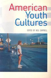 Cover of: American Youth Cultures by Neil Campbell