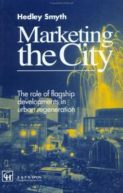 Cover of: Marketing the city | Hedley Smyth