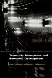 Cover of: Transport investment and economic development | David Banister