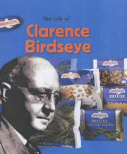 Cover of: Clarence Birdseye (Life Of...) by M.C. Hall