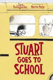 Cover of: Stuart goes to school | Sara Pennypacker