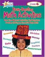 Cover of: Joyful Learning: Brain-Boosting Math Activities | Jennifer Nichols