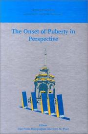 Cover of: The onset of puberty in perspective | International Conference on the Control of the Onset of Puberty (5th 1999 Liége, Belgium)