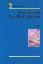 Cover of: Hydrocarbon seal quantification | Norsk petroleumsforening. Conference