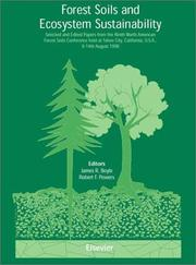 Cover of: Forest soils and ecosystem sustainability | North American Forest Soils Conference (9th 1998 Tahoe City, Calif.)