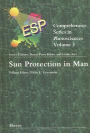 Cover of: Sun Protection in Man (Comprehensive Series in Photosciences) | P.U. Giacomoni