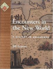 Cover of: Encounters in the New World | Jill Lepore