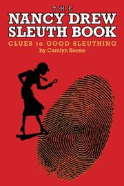 Cover of: The Nancy Drew Sleuth Book | Carolyn Keene