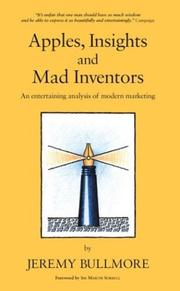 Cover of: Apples, Insights and Mad Inventors | Jeremy Bullmore