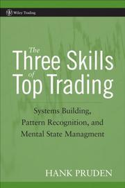 Cover of: The Three Skills of Top Trading | Hank Pruden