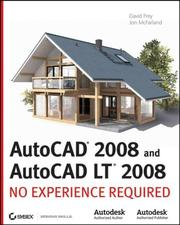 Cover of: AutoCAD2008 and AutoCAD LT 2008 | Jon McFarland, David Frey