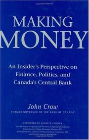 Cover of: Making Money by John W. Crow