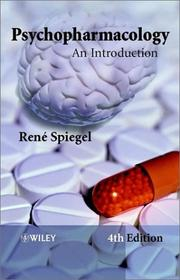 Cover of: Psychopharmacology | René Spiegel
