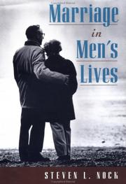 Cover of: Marriage in men's lives | Steven L. Nock