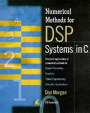 Cover of: Numerical methods for DSP systems in C | Morgan, Don