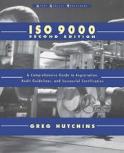 Cover of: ISO 9000 | Greg Hutchins