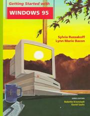 Cover of: Getting started with Windows 95 | Sylvia Russakoff