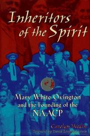 Cover of: Inheritors of the Spirit | Carolyn Wedin