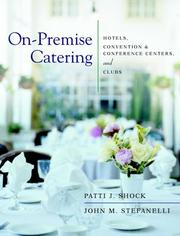 Cover of: On-Premise Catering | Patti J. Shock