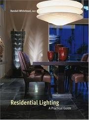 Cover of: Residential Lighting by Randall Whitehead