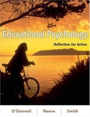 Cover of: Educational Psychology by Johnmarshall Reeve
