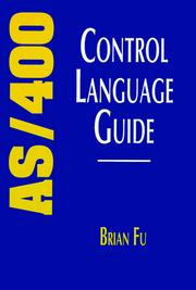 Cover of: AS/400 Control Language guide | Brian Fu