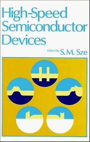 Cover of: High-speed semiconductor devices | S. M. Sze