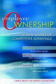 Cover of: Employee ownership | Carol Anne Beatty